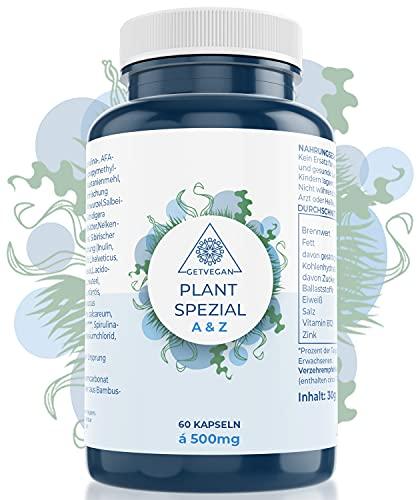 Plant Spezial ALL-IN-ONE Magen Darm Verdauungskomplex - Darmbakterien Kapseln - Kulturen Komplex - 21 Bakterienstämme - beliebt bei Blähbauch, Blähungen - vegan & laborgeprüft