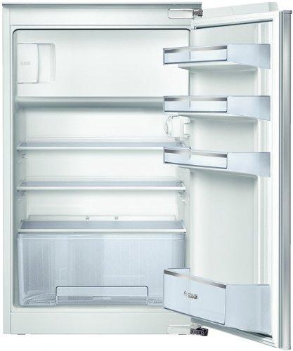 Bosch KIL18V51 Serie 2 Einbau-Kühlschrank mit Gefrierfach / A+ / 88 cm Nischenhöhe / 191 kWh/Jahr / 129 L / MultiBox / SafetyGlass