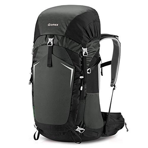 Gonex 55L Hiking Internal Frame Backpack Outdoor Backpacking Camping Trekking Climbing Backpack
