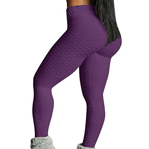 Leggings sin Costuras Deporte Mujeres Fitness Push Up Pantalones de Yoga Cintura Alta Prueba de Sentadillas Entrenamiento Correr Ropa Deportiva Gimnasio Medias Leggins