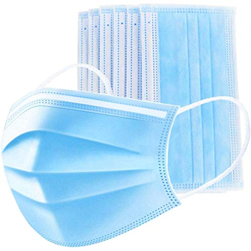 7 Stück Atme Filter Ohrenschützer Wiederverwendbar Waschbar Atemschutzm Filtern Staub Anti-Verschmutzungs-Anti-Smog PM2.5 zum Reiten Staubdichte Kohlefilter Baumwolle
