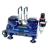 Paasche Airbrush DA400R 1/4 HP Compressor with Regulator and Moisture Trap