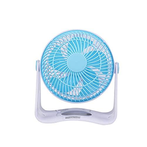 CZFSKCZfs Ventilador Pequeño, Computadora de Mesa de Oficina de 360 Grados Mini Mute Mute MUDE DE DEPANTENIO DE MUDE