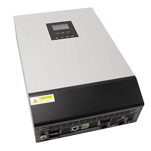 Cablematic - Inversor de onda pura Axpert KS para fotovoltaica PV 5 KVA