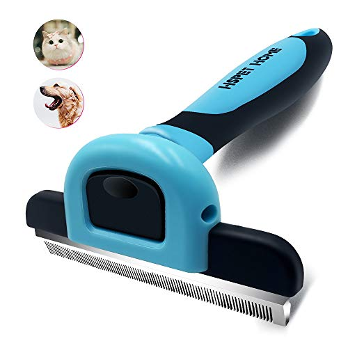 HSpetHOME Pet Grooming Brush for Dogs and Cats Shedding Hair by up to 95%Perfect Long amp Short Hair Pet Deshedding Tool