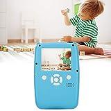 Lazmin112 Cámara Digital de impresión termosensible Rápida y Conveniente 300 Fotos y grabación de Video Continua de 5 Horas Lente de 3 Capas Cámara de 12 MP Adecuada para niños