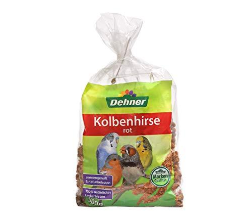 Dehner Vogelfutter, Kolbenhirse, rot, 500 g