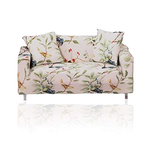 YuuHeeER 1 funda elástica para sofá de 3 plazas, con estampado de licra, elástica, estampada.