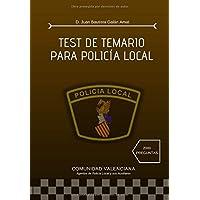 TEST DE TEMARIO PARA POLICÍA LOCAL