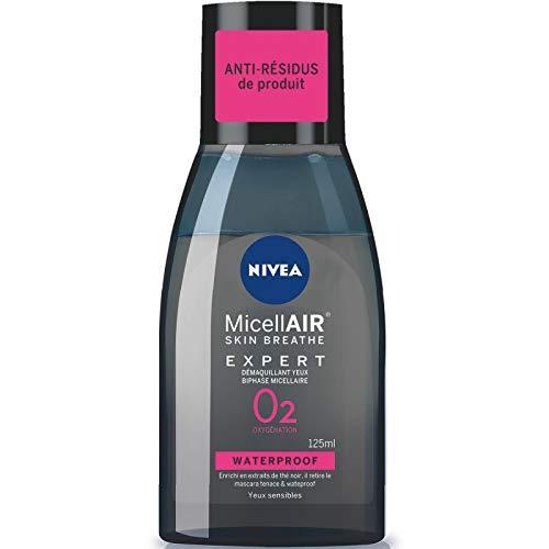 Nivea - Visage Démaquillant Yeux Black Micellaire 125Ml - Lot De 3 - Livraison Gratuite