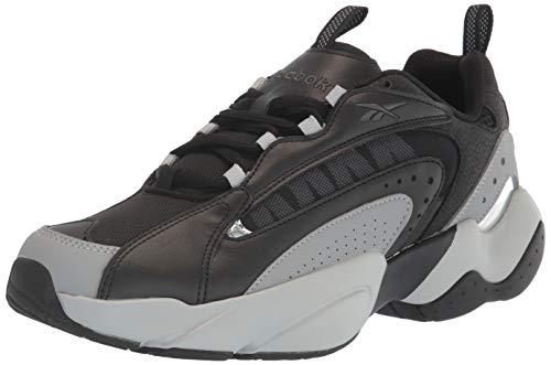 Reebok Unisex-Adult Royal PERVADER Sneaker, Black/Pure Grey, 12 M US
