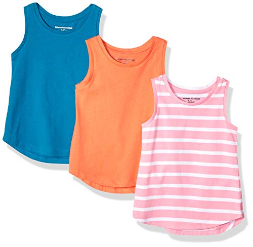 Amazon Essentials – Camiseta de tirantes para niña (3 unidades)