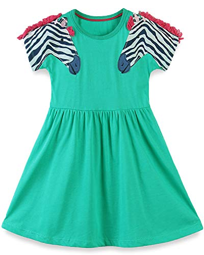 Bumeex Little Girls Cotton Skirt Dress