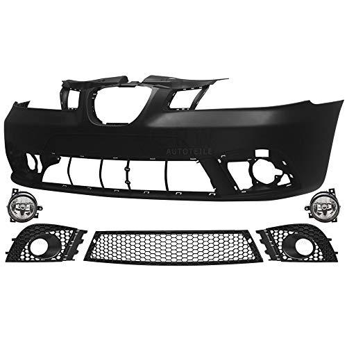 Set Stoßstange vorne grundiert für Ibiza Cordoba 6L Bj 02-08 Facelift Optik