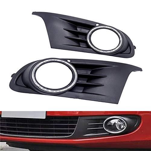 Parachoques Delantero Parrilla 2 delantero del coche del PCS parachoques inferior Niebla Lado de la Luz Rejillas de inserción en forma el Fit For golf 6 MK6 GTI Fácil Instalación Accesorios for automó
