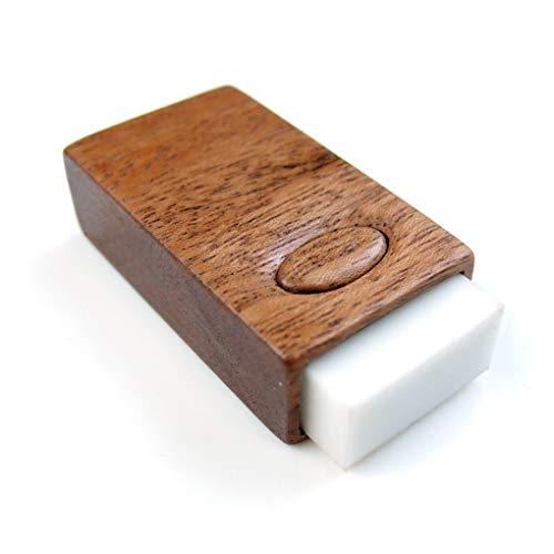 【木製雑貨LIFE】 MONO消しゴムケース・カバー・スリーブ(HOLD加工) MONO消しゴム付き 型番104784 【国内正規品】 こげ茶