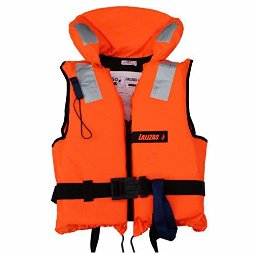 Lalizas 71085 Chaleco Salvavidas, Unisex Adulto, Naranja, 0-50 kg