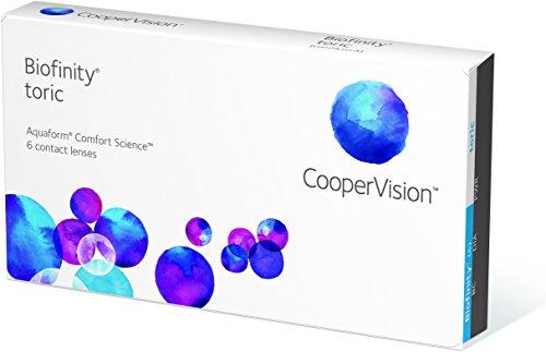 Cooper Vision Biofinity Toric (3 Stk.) (Dioptrien: -05.00 / Radius: 8.7 / Achse: 170 / Cylinder: -0.75 / Durchmesser: 14.5)