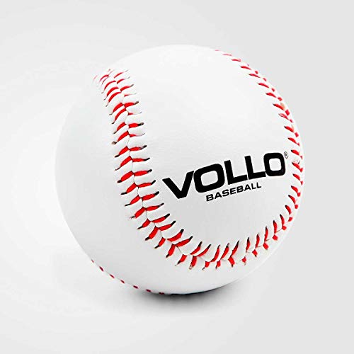 Vollo Sports Bola Beisebol, 9', Branca