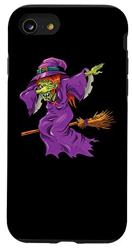 Halloween 2020 Funny Witches Halloween Dabbing Witch Designs Co. iPhone SE (2020) / 7 / 8