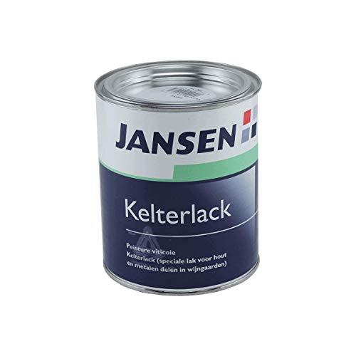 Jansen Kelterlack weiß 750ml für Holz und Metall obstsäurebeständig