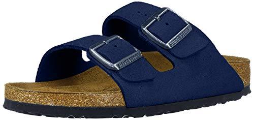 Birkenstock Women's Arizona Soft Footbed Sandal Night Suede Size 41 N EU