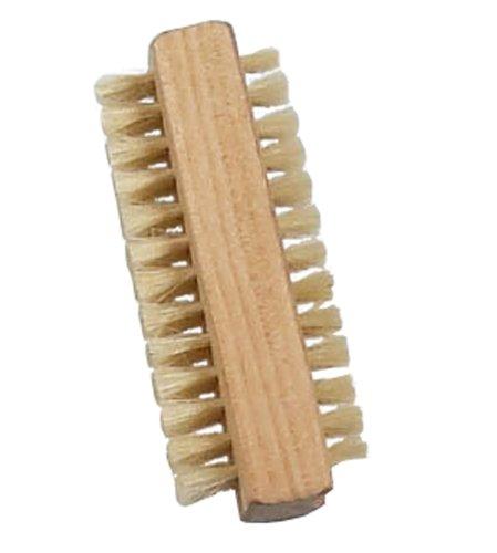 Parsa 1-3 dubbelzijdige houten borstel, handwasborstel, artsborstel, voor badkamer, toilet, wastafel, werkplaats, tuin 1 houten borstel.