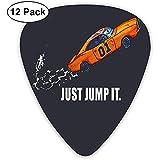 Fashion Just Jump It The Dukes Of Hazzard Guitar Picks (12 Pack) Pour guitare électrique, guitare acoustique, mandoline