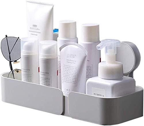 Cuarto de baño Baño Inodoro Estante para Colgar sobre el baño sin Agujeros para cosméticos Champús
