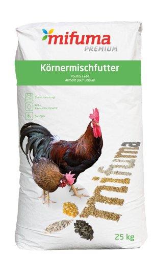 Mifuma Hühnerfutter Geflügelkörner Premium 25 kg