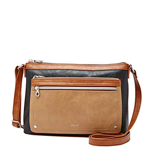 Relic by Fossil Women's Evie Crossbody Handbag, Color: Neutral Multi Model: (RLH2649994)