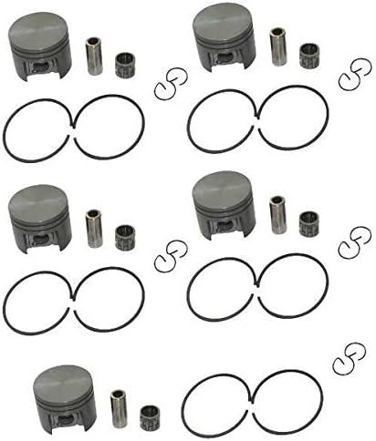 hndfhblshr 5 Sets 38mm Piston Max 68% Popular overseas OFF 10mm Bearing Compat Pin Kit Ring