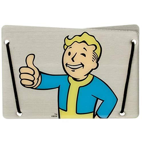 Fallout Vault Boy Slim Aluminum Card Wallet