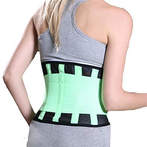 Cinturones de cintura de las mujeres de la postura de los hombres de la parte inferior de la espalda de apoyo lumbar corsé elástico cifosis corrección ortopédica multitamaños cinturón