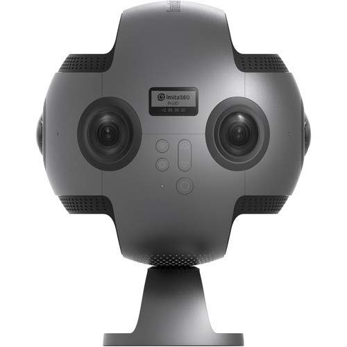 Insta360 PRO 8K 360 Spherical VR Camera, Professional 360 Camera, Black