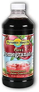 Dynamic Health Pomegranate Juice Concentrate | No Additives or Preservatives | Antioxidant | 16oz