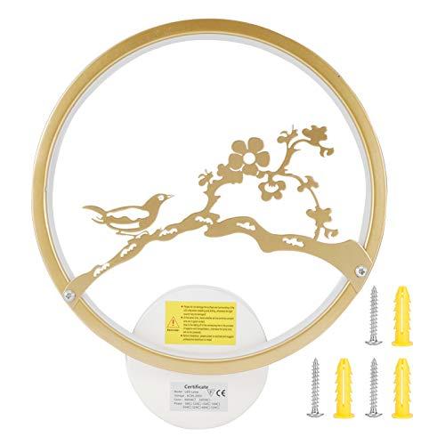Goud Muur Lamp, Aluminium Airco 85-265V 50-60Hz Muur Blaker Verlichting voor Wonen Kamer Slaapkamer Gang Airco 85‑265V