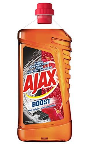 Ajax Nettoyant Ménager Flacon Boost Savon Noir 1,25 L