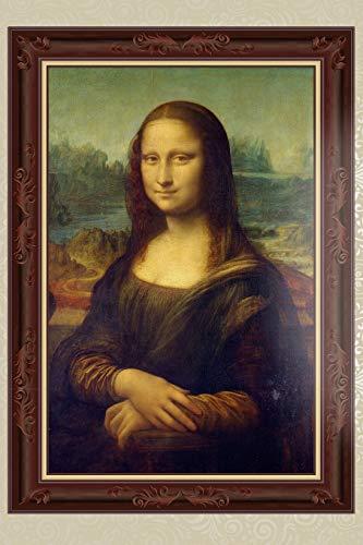 Mona Lisa - Leonardo da Vinci, 1503: Kunst Notizbuch Gemälde, Tagebuch, Journal, liniert