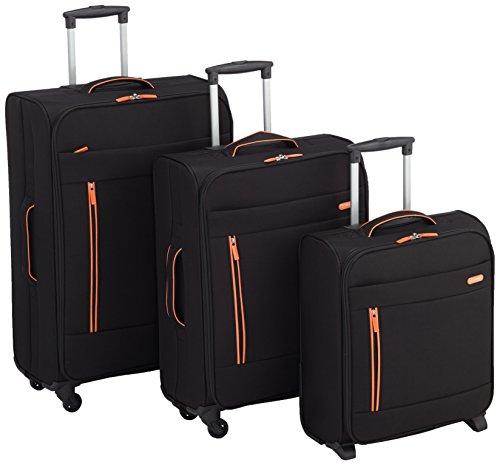 Clipper Set di valigie 302NO Nero 73.0 liters