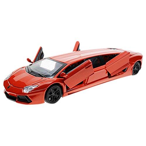 Kids Best Gift Simulation Modèle Acousto-Optic Alloy Modèle de voiture 1/36 ( Rouge )