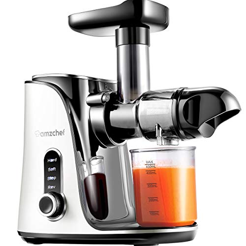 Discover Bargain Juicer Machines,AMZCHEF Slow Masticating Juicer Extractor, Cold Press Juicer with T...