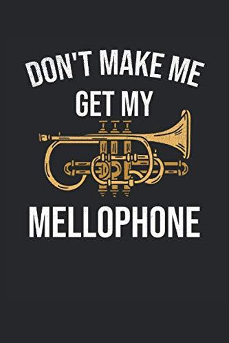 Mellophone Lined Notebook: Mellophone Notebook - Mellophone Journal 120 Pages for Mellophone Player or Mellophone Lover - Mellophone Gifts for Marching Band