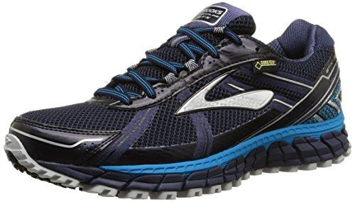 Brooks Men's Adrenaline ASR 12 GTX Trail Running Shoes Peacoat/AtomicBlue/Black Size 11 M US