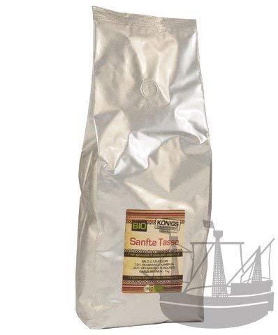 Sanfte Tasse, BIO, ganze Bohne, mild & säurearm, 1kg - Bremer Gewürzhandel