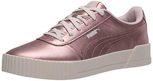 PUMA Women's Carina Sneaker, Rose Gold-Rose Gold, 7.5 M US