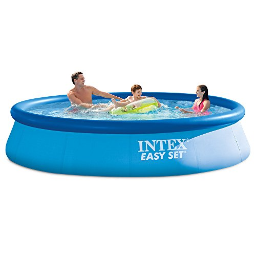 Intex 28131EH 12ft X 30in Easy Pool Set, 12 ft x 30 in, Blue