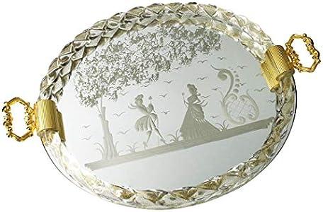 Bandeja original de cristal de Murano OMG Elisabetta - Grabado a mano