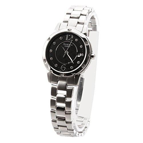 Sheen by Casio Ladies Stainless Steel Bracelet Watch