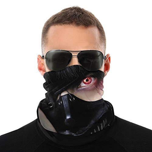 Tokyo Ghoul - Pasamontañas divertido para ciclismo, motocicleta, esquí, snowboard, música
